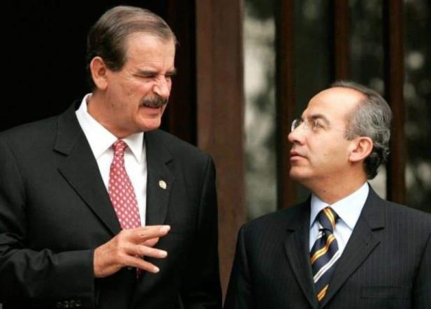 AMLO asigna escoltas a Calderón y a Fox