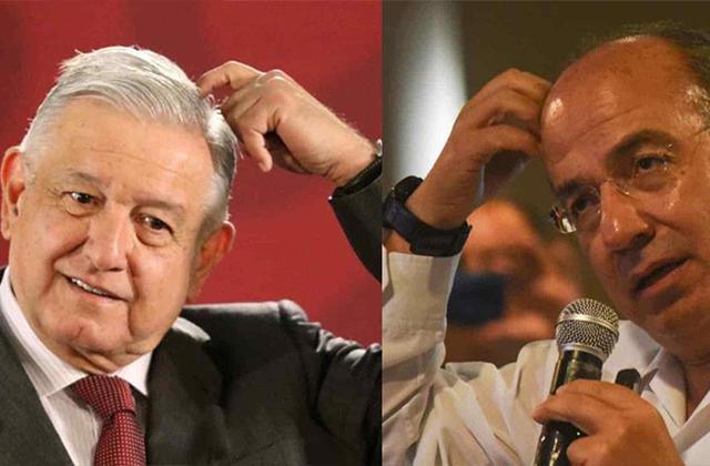 Ya perdoné a Calderón por robarme la presidencia, él lo sabe: AMLO