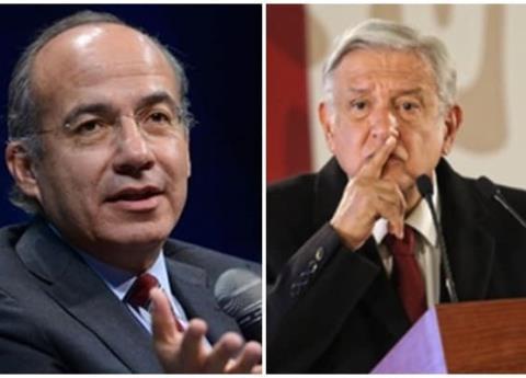AMLO se disculpa con Calderón y dice que no debatirá con él