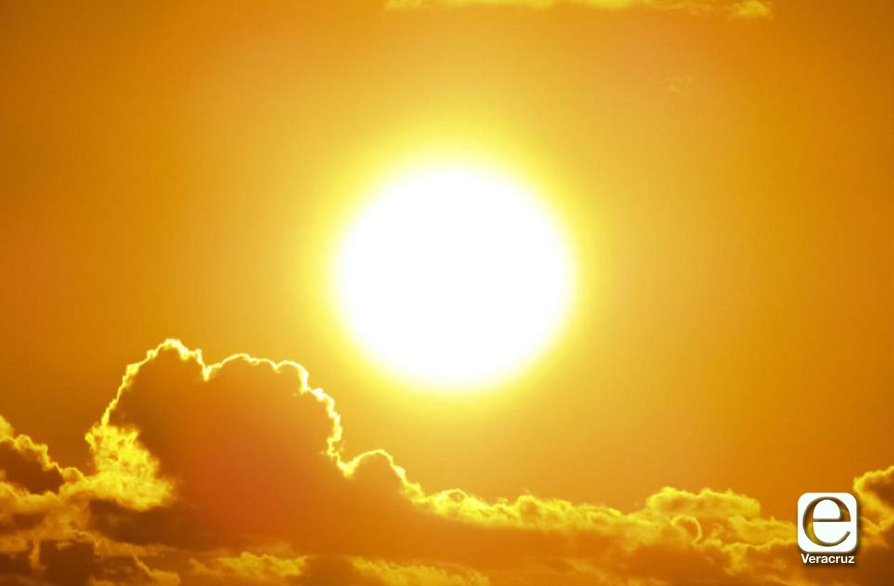 Pronostica PC calor hasta el fin de semana, en Veracruz