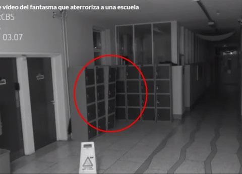 Cámara capta fantasma en escuela de Irlanda