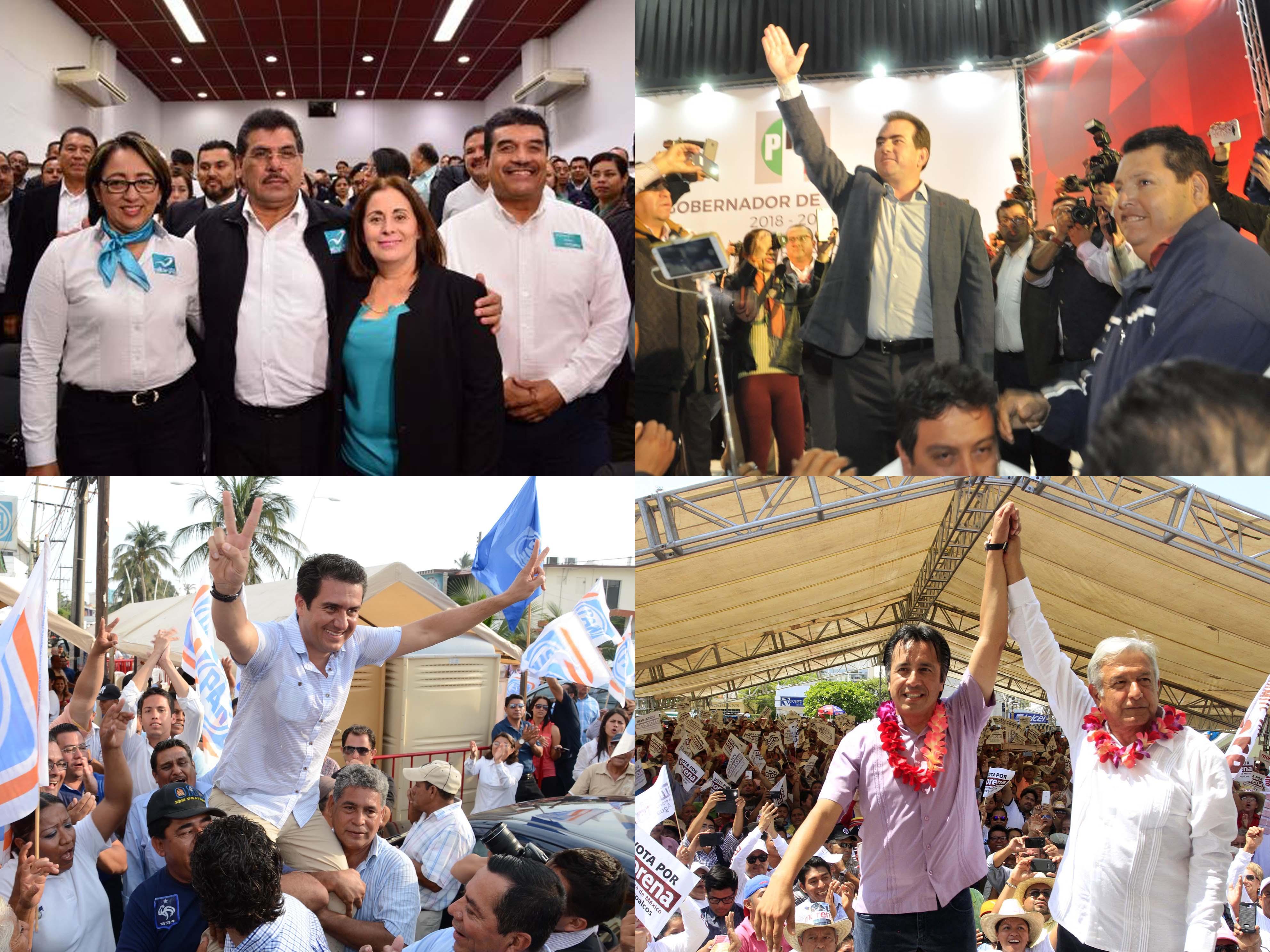 Este domingo arrancan campañas candidatos a gubernatura de Veracruz