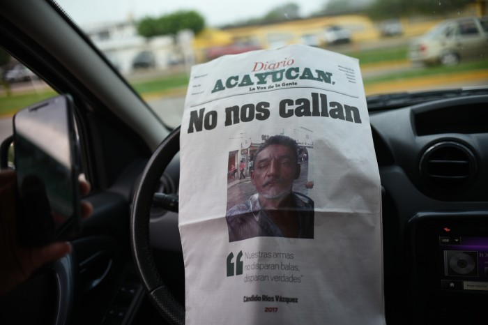 Periodista asesinado presentó varias denuncias contra ex alcalde