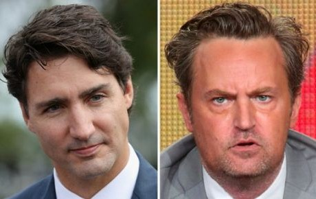 Trudeau reta en Twitter al actor Matthew Perry