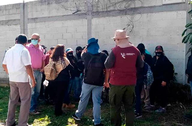 Suspenden primera búsqueda de fosas en Ixtac de este año