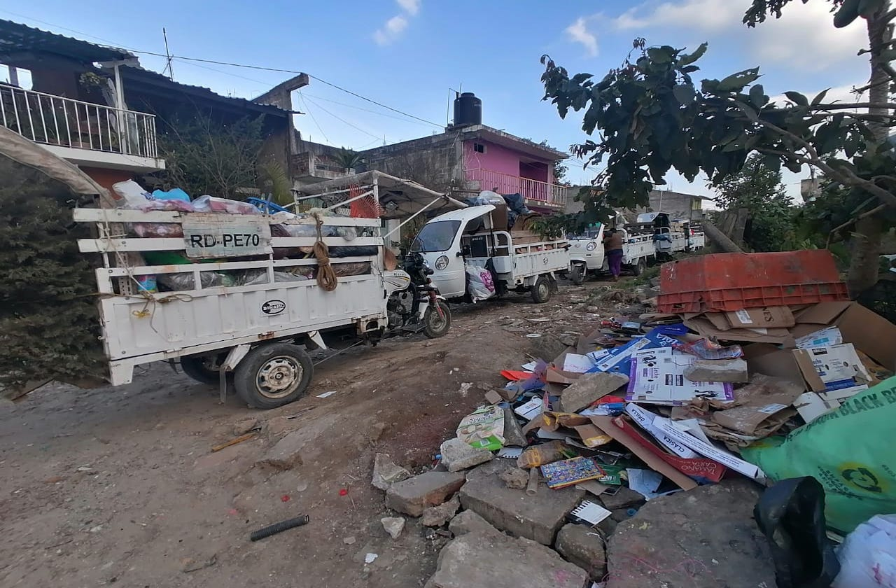 Cancelan tiradero a cielo abierto operado por recolectores, en Xalapa