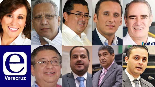 9 candidatos en Veracruz con señalamientos penales