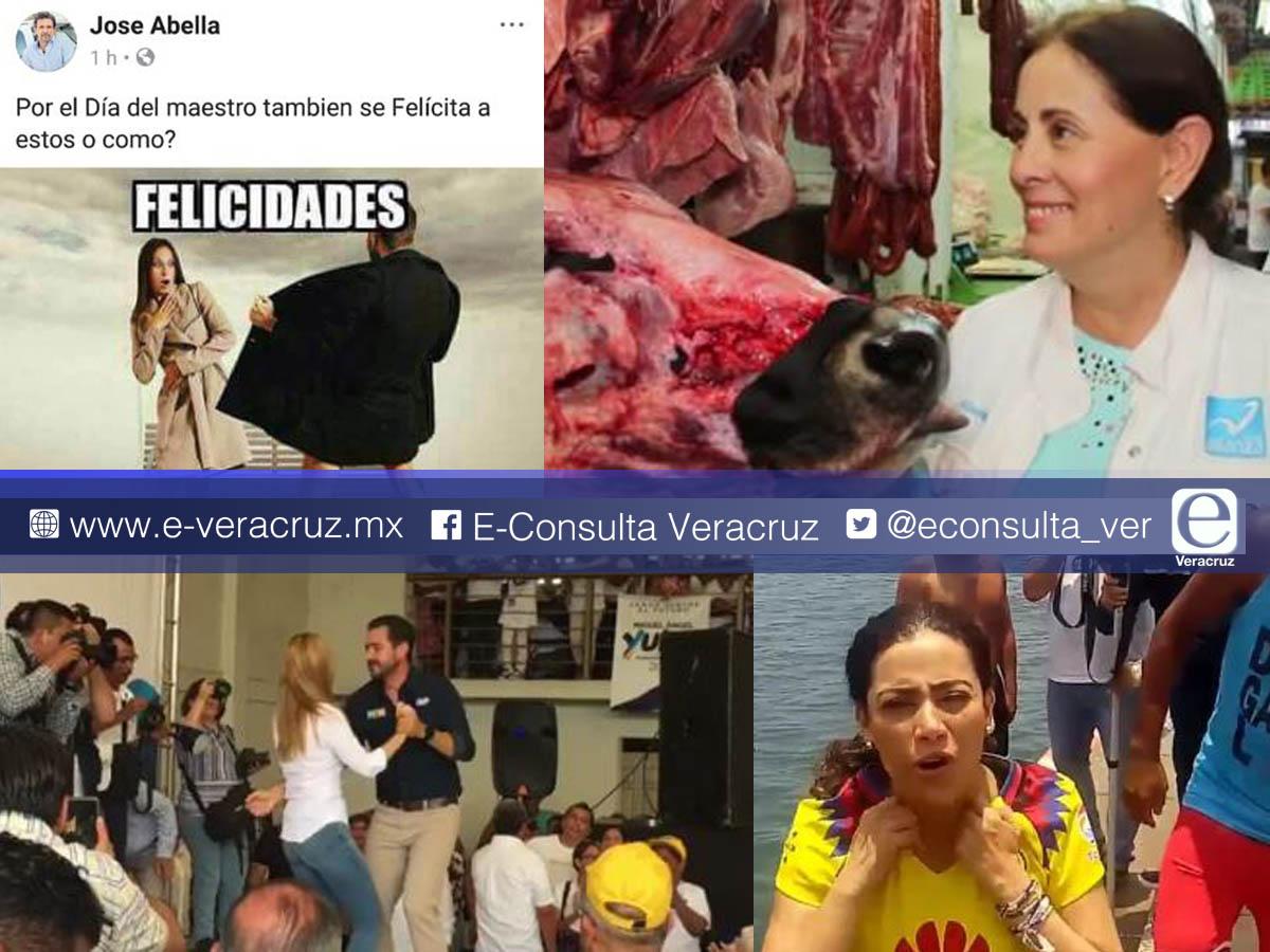 Irreverentes, en redes sociales candidatos buscan el voto en Veracruz