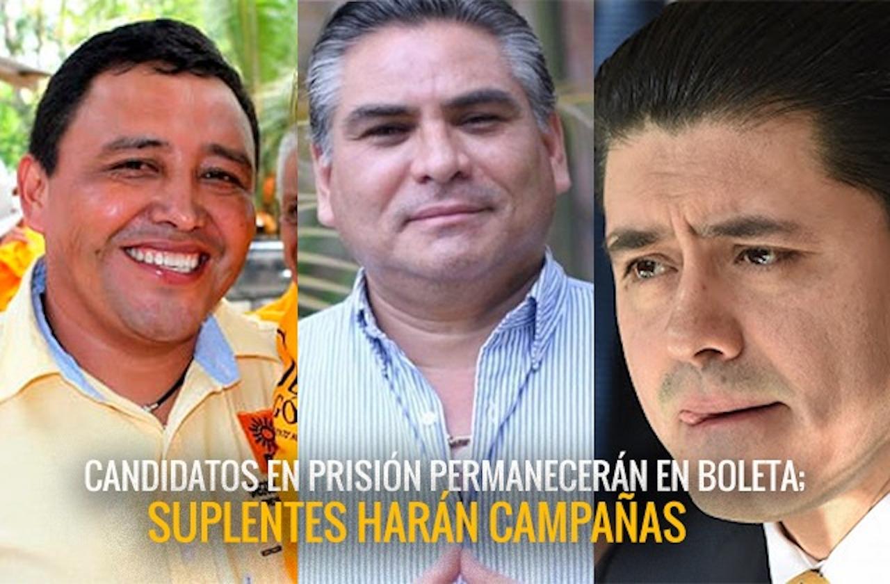 Candidatos de oposición harán campaña en prisión; unos renunciaron