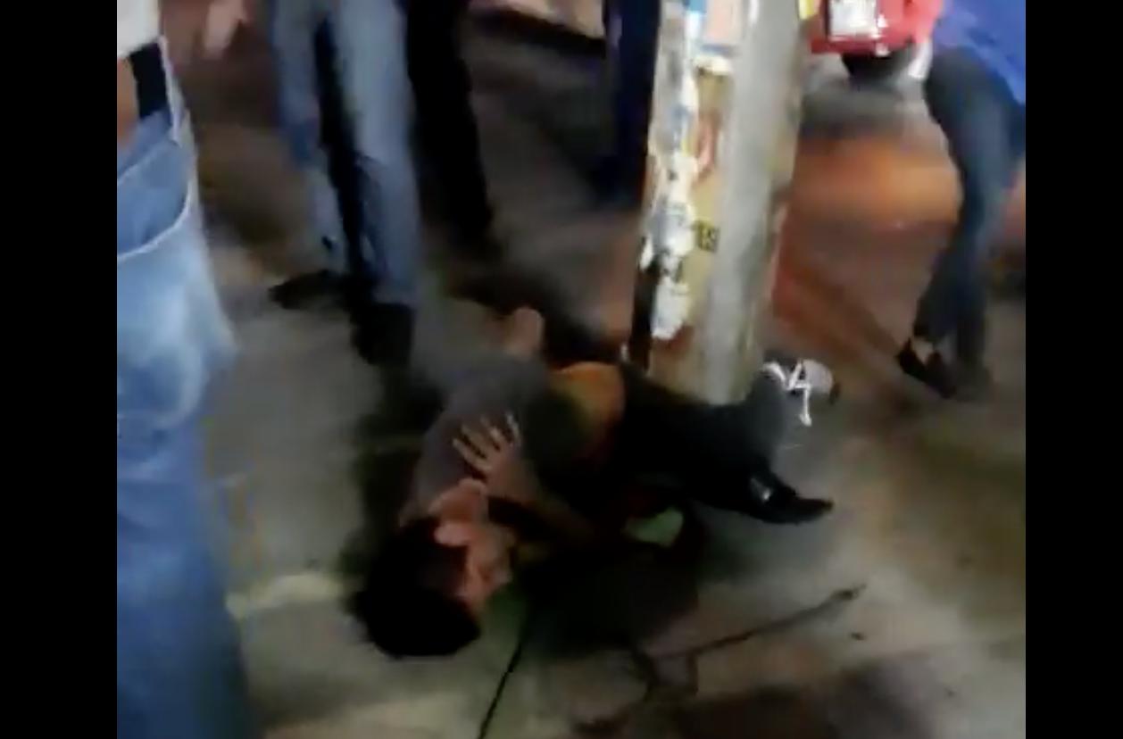 Presunto asaltante estuvo a punto de ser linchado por taxistas