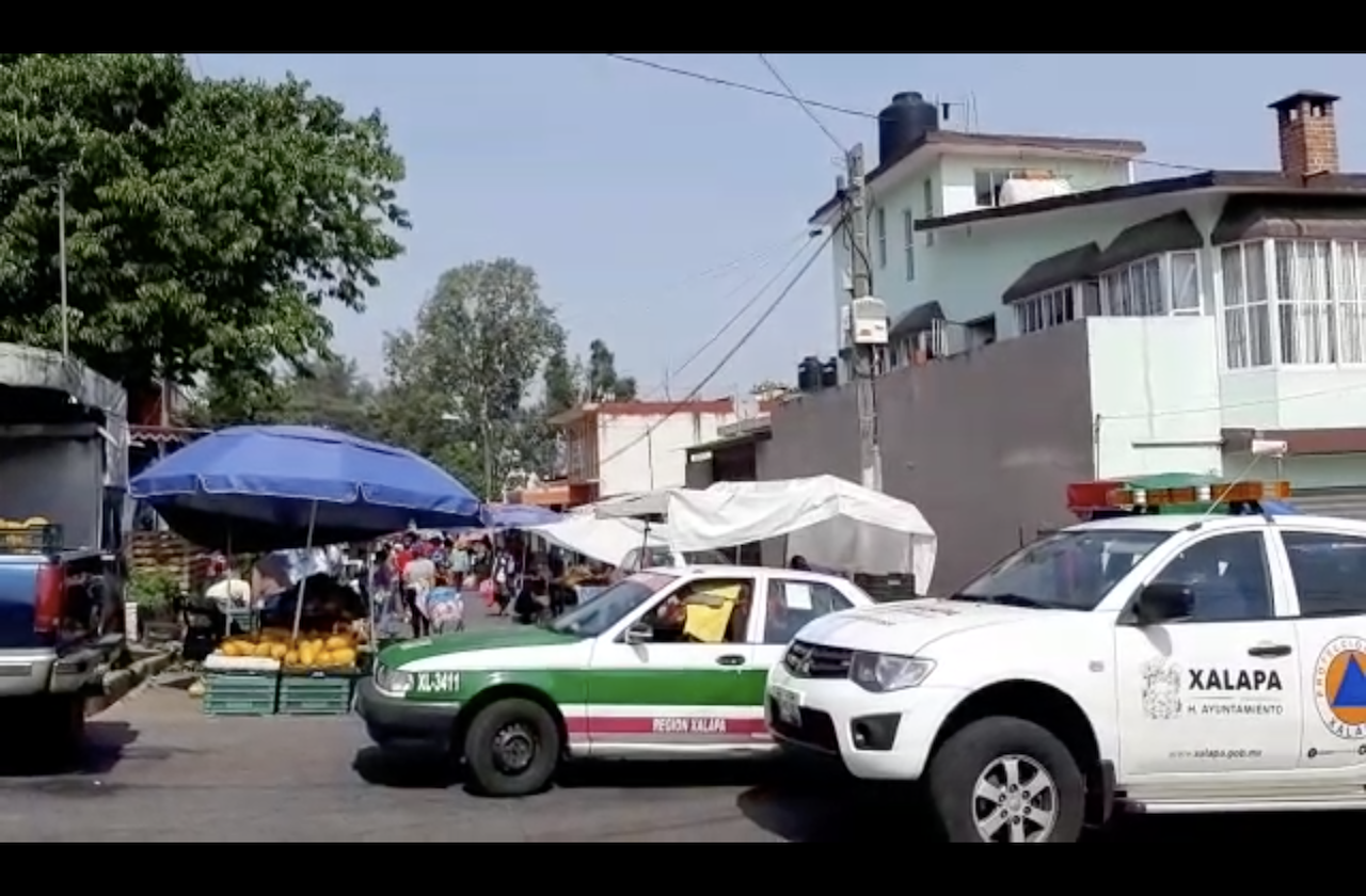 Protección Civil de Xalapa llama a quedarse en casa por coronavirus