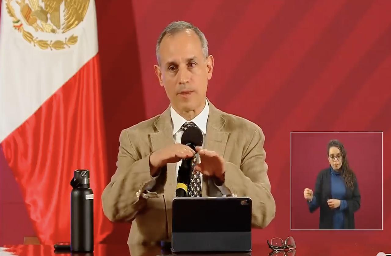 Veracruz registrará pico más alto de contagios en 10 días: Gatell