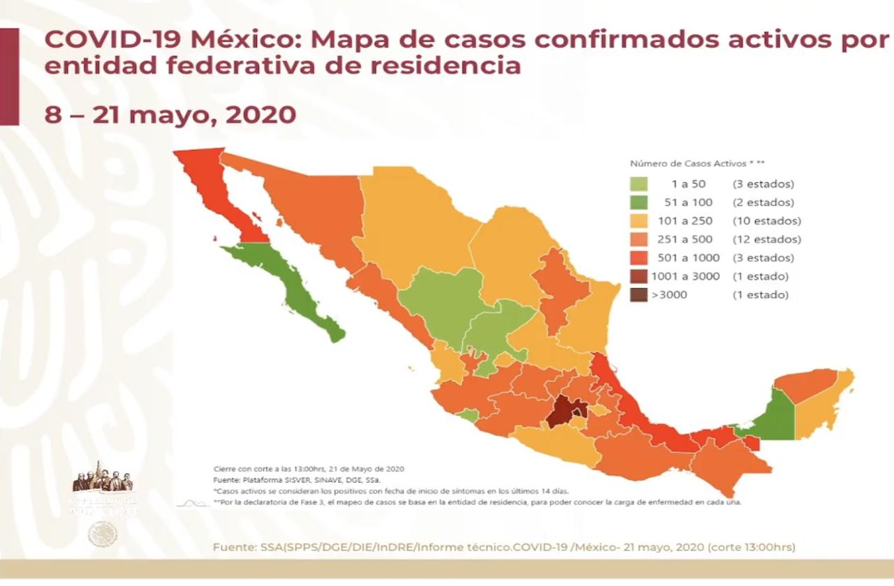 México se integra al topten mundial en decesos por covid