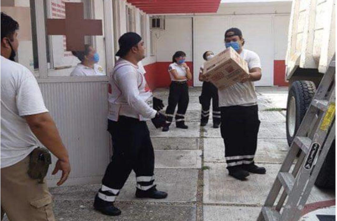 Grupo Alen entrega artículos de limpieza a Cruz Roja en el estado