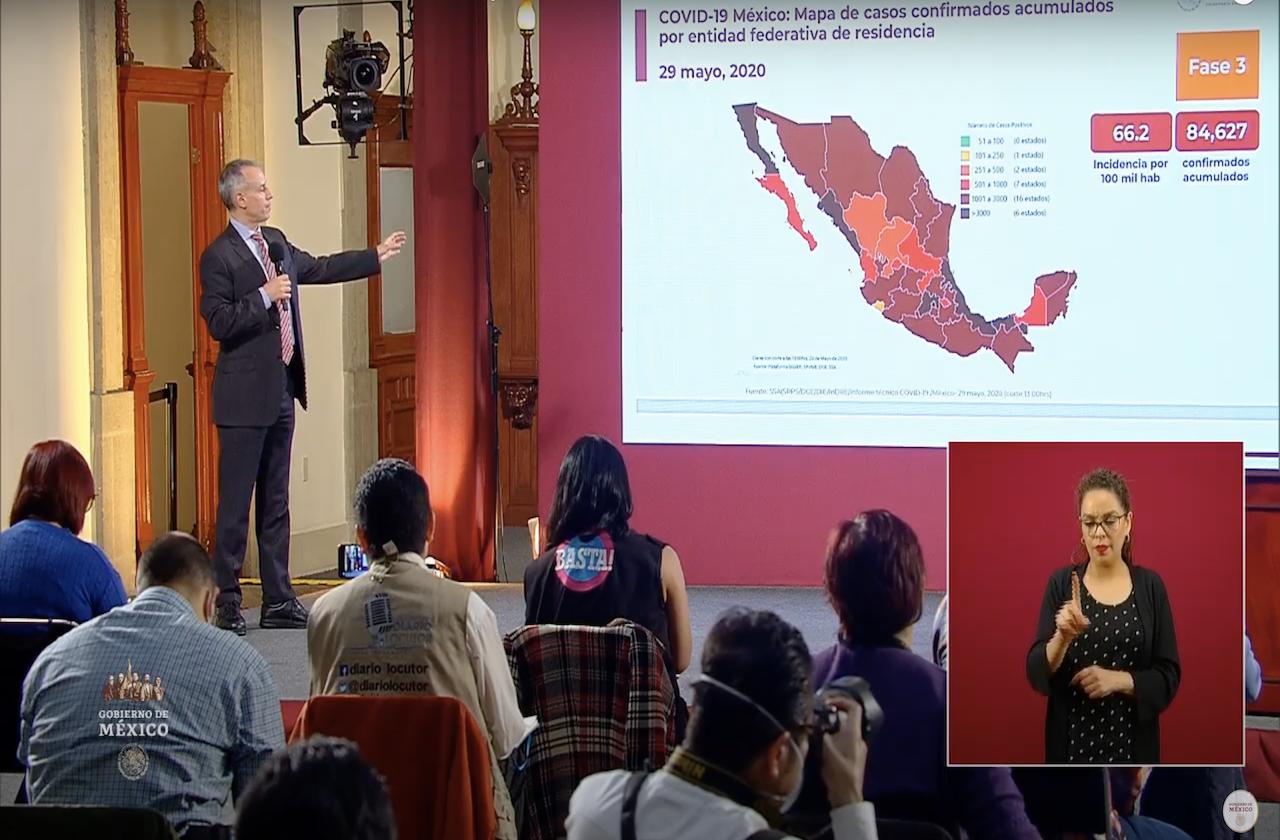 Van más de 9 mil 400 defunciones por covid en México