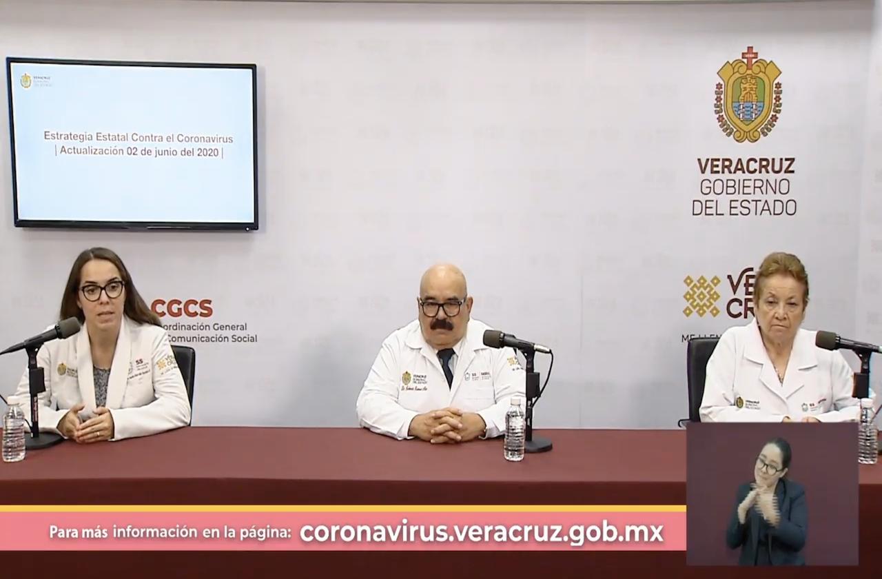 Suma Veracruz 44 nuevas muertes por covid-19
