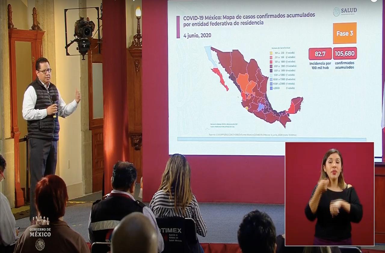 México vuelve a romper récord por nuevos casos de covid