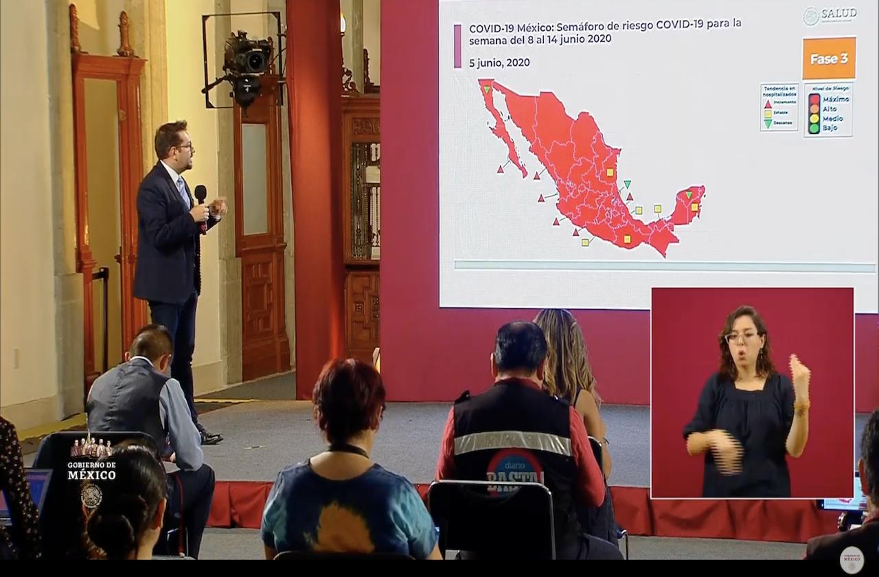 México en rojo; suma 13 mil 170 defunciones por covid