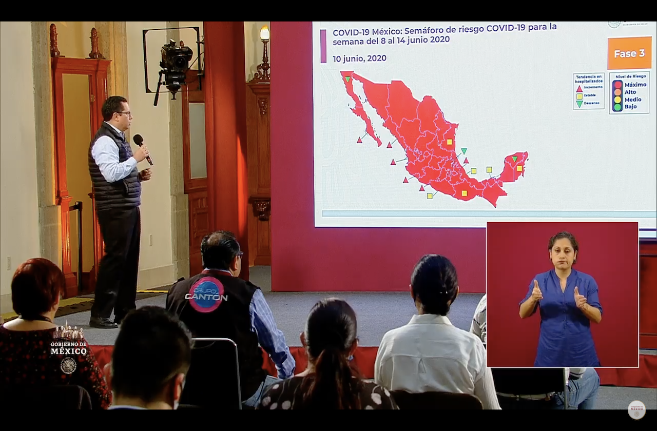 México supera las 15 mil defunciones por coronavirus