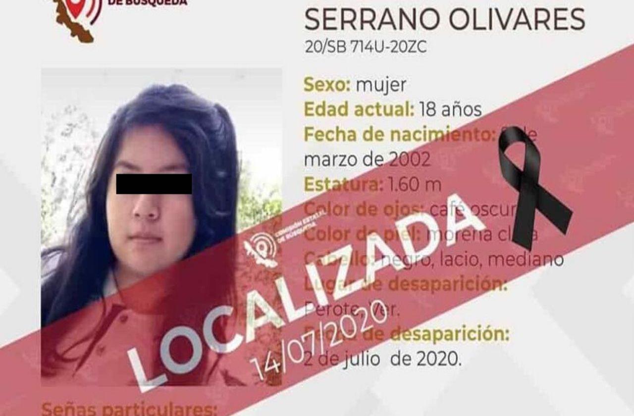 Capturan a presunto feminicida de Diana Jazmín, asesinada en Perote