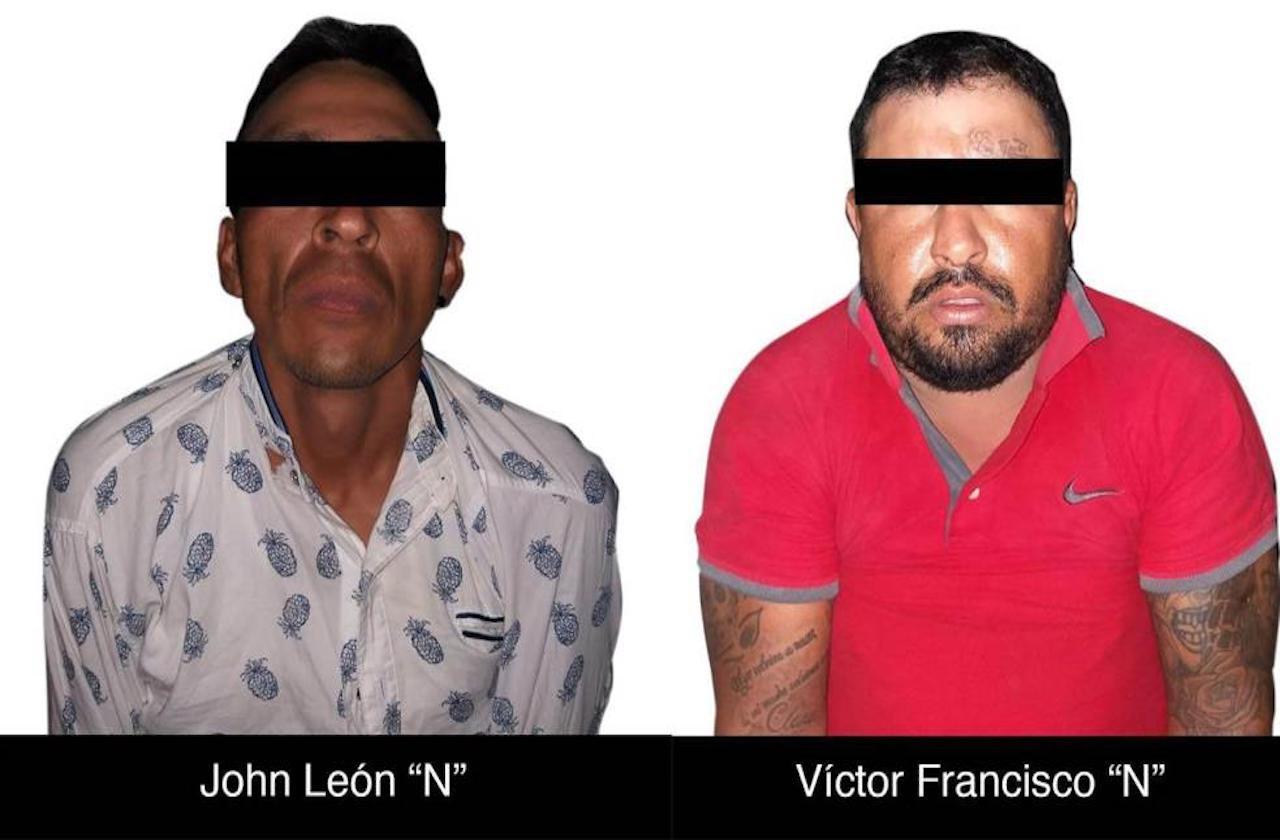 Capturan a presuntos delincuentes en Manlio F. Altamirano