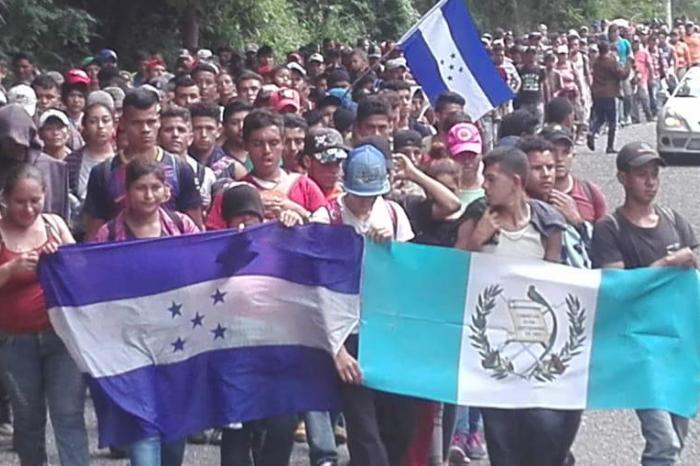 Cuitláhuac pide apoyo para Caravana Migrante centroamericana