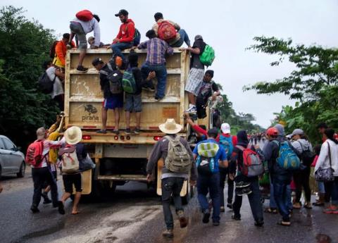 CDMX alista deportivo para recibir a migrantes del éxodo centroamericano