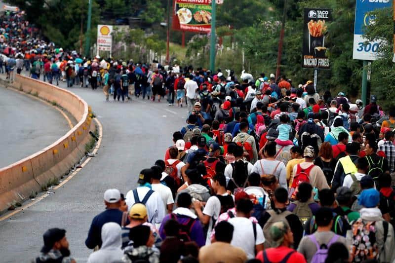 Caravana Hondureña prepara tránsito por México en