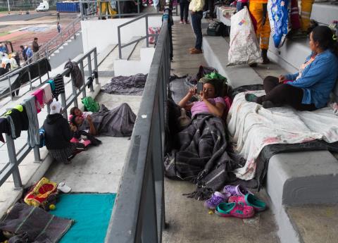 Suman más de 4 mil migrantes centroamericanos en la CDMX