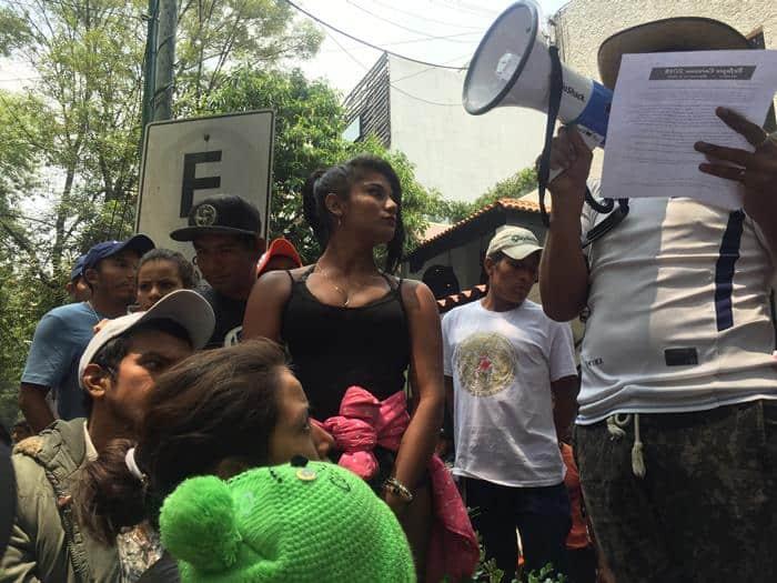 México se compromete a dar opciones de residencia a migrantes en Caravana