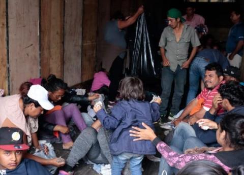 Desaparecen 90 migrantes en su camino a Puebla