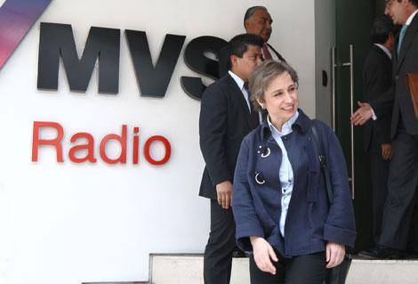 Tribunal federal desecha en definitiva demanda de amparo de Carmen Aristegui
