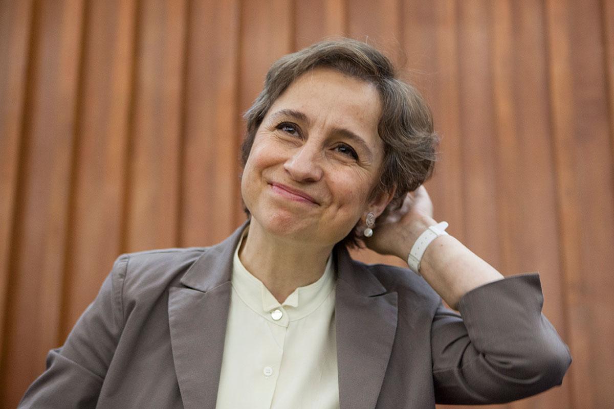 Aristegui no está a favor de nadie: Rectora UV