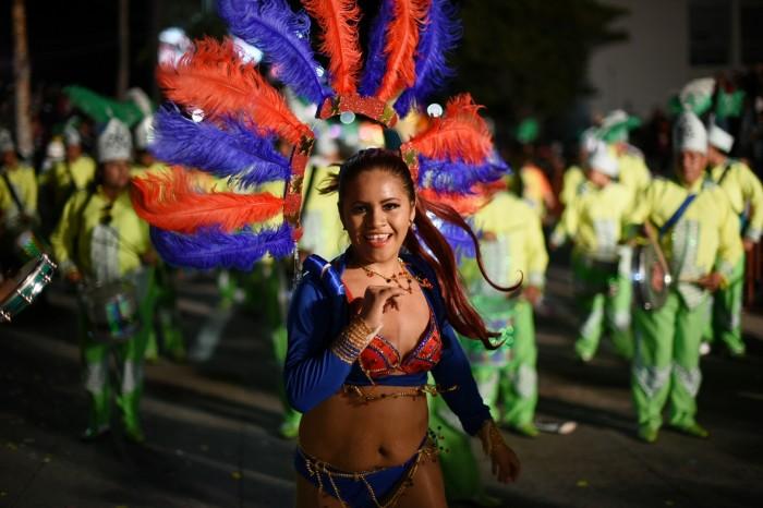 Bajó 9 puntos la afluencia turística en el Carnaval de Veracruz