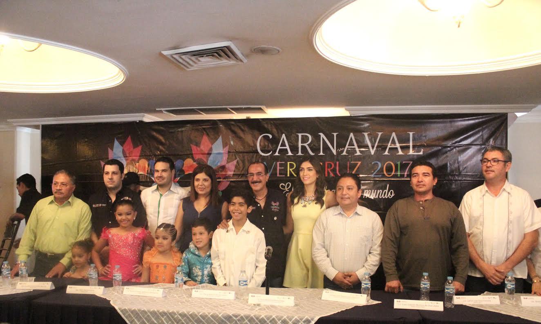 Desfiles del Carnaval de Veracruz 2017 serán gratuitos lunes y martes