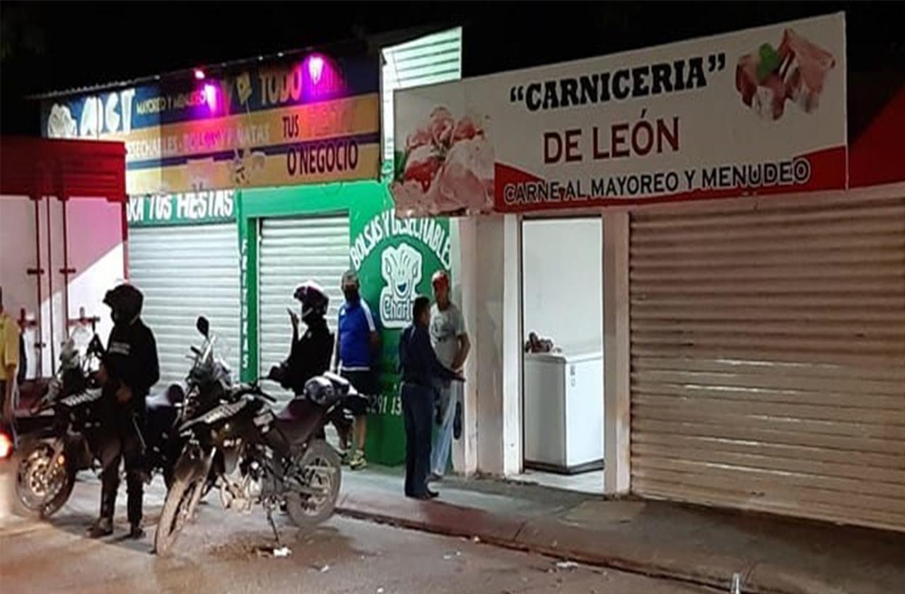 Asaltan local con arma de fuego en comunidad de Medellín de Bravo