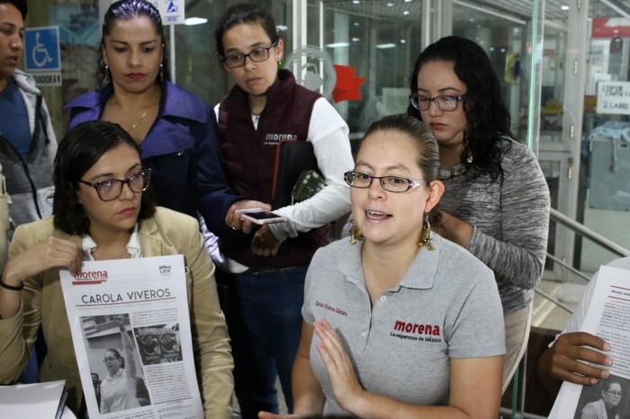 Sobrina de diputada de Morena llama muertos de hambre a periodistas