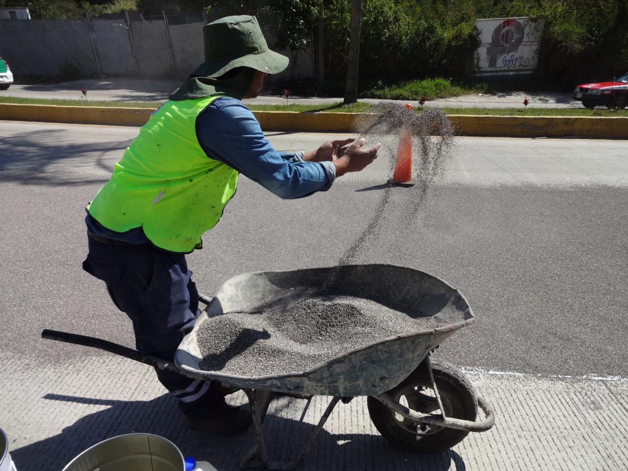 ¿En qué consiste el reencarpetado de la carretera Xalapa-Coatepec?