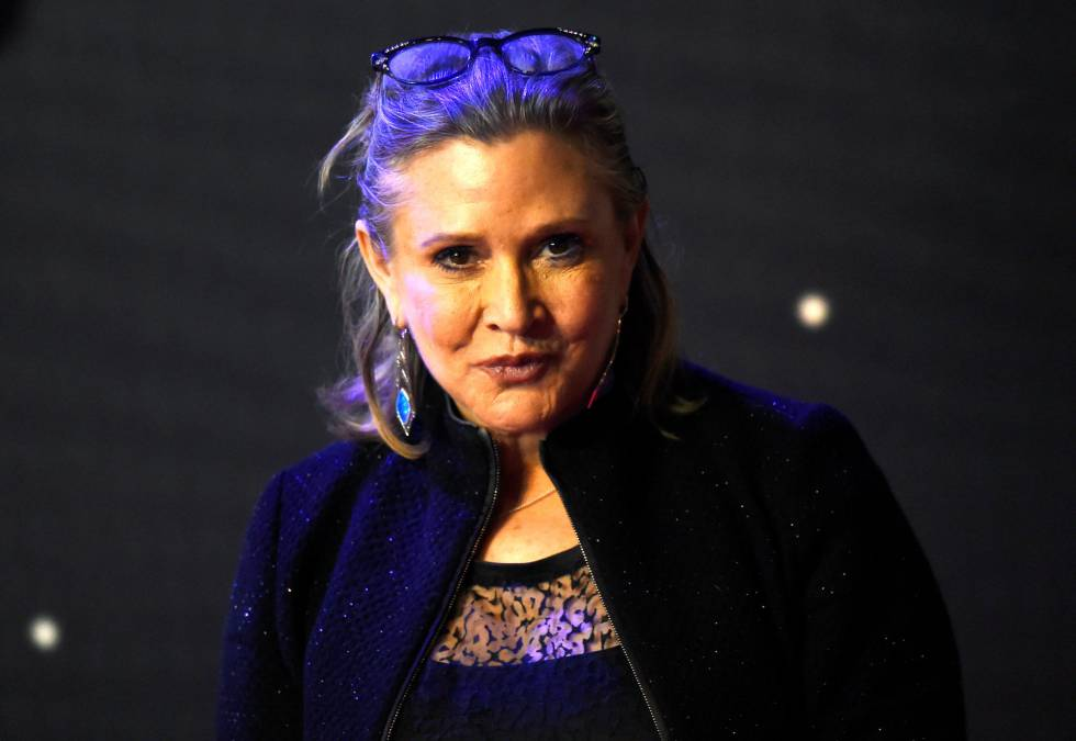 Muere Carrie Fisher, adiós a la legendaria princesa Leia