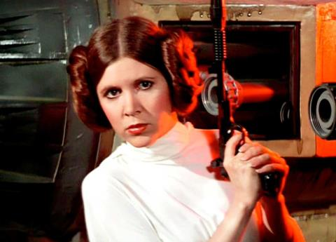 Lo creas o no, Carrie Fisher estará en el Episodio IX