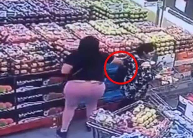 Video: ¡Ten cuidado! Te pueden asaltar carteristas en el supermercado