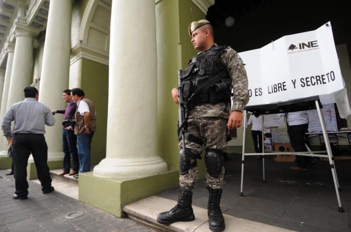 Solicitarán apoyo de fuerzas federales para la elección 2018