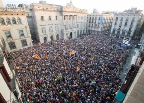 Rechazo global a la independencia de Cataluña