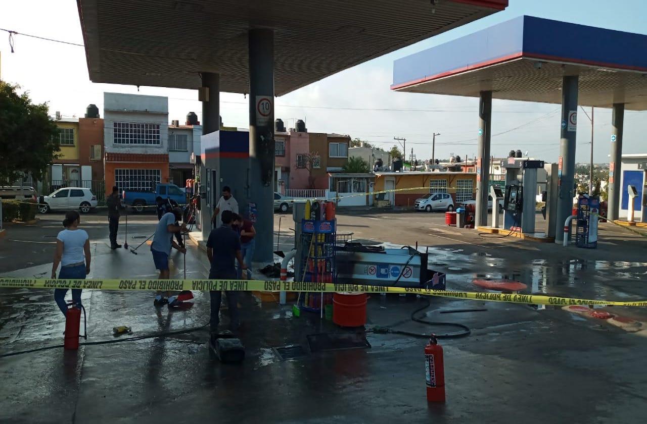 Causa alarma conato de incendio en gasolinera de Veracruz