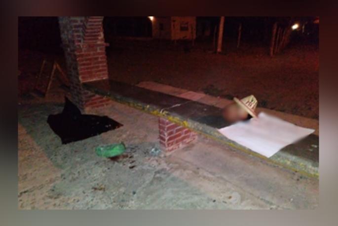 Con mensaje patrio, dejan cuerpo desmembrado en Pánuco