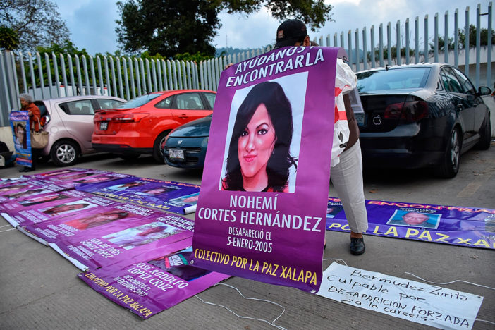 FGE discrimina e ignora al Colectivo por la Paz Xalapa
