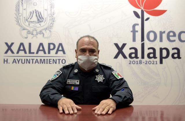 Renuncia Francisco Villa como director de la policía municipal de Xalapa