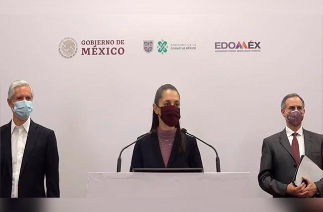 CDMX y Edomex regresan a rojo, anuncian cierre masivo de actividades