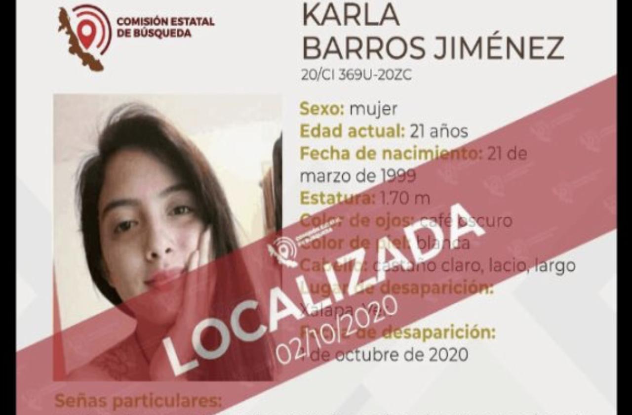 CEB confirma localización con vida de Karla