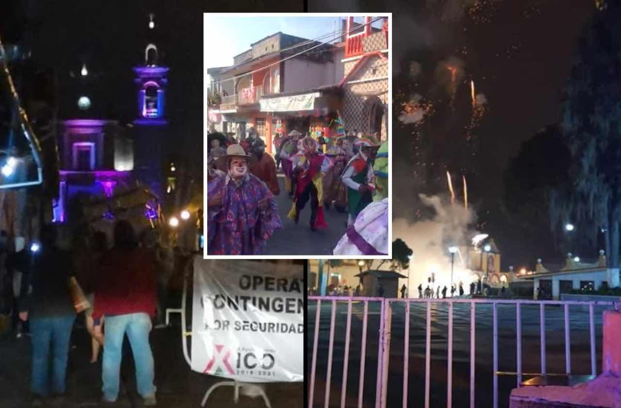 Celebran en Xico fiesta patronal pese a pandemia de covid